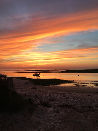 Eastham Cape Cod vacation rental - 1.5 miles to a CapeCod Bay sunset.