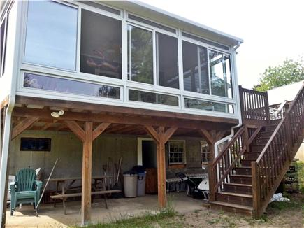 West Yarmouth Cape Cod vacation rental - Sunroom at the back of the house