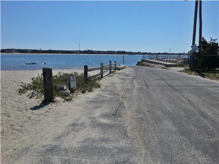 West Yarmouth Cape Cod vacation rental - Beach and boat ramp