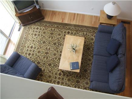 New Seabury, Mashpee New Seabury vacation rental - Living room with sliders to deck, overlooking golf course