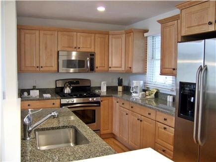 New Seabury, Mashpee New Seabury vacation rental - Beautiful Kitchen with granite and stainless steel appliances
