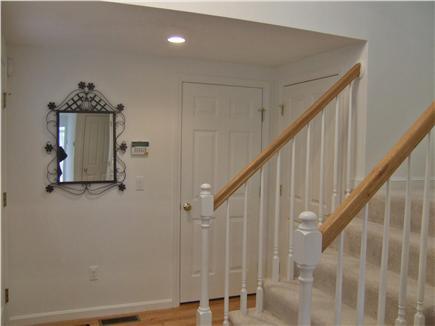 New Seabury, Mashpee New Seabury vacation rental - Foyer area with laundry, and stairway to second floor