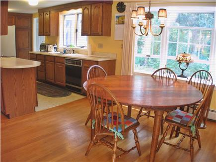 Brewster Cape Cod vacation rental - Open kitchen/dining area.