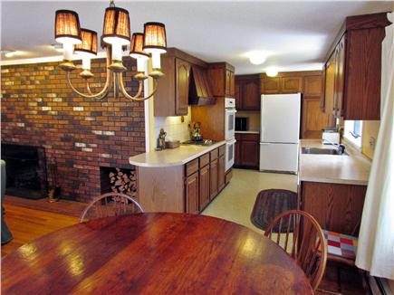 Brewster Cape Cod vacation rental - Kitchen and table.