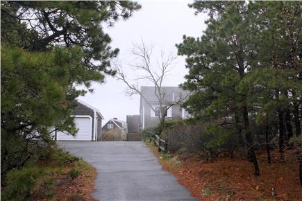 Eastham Cape Cod vacation rental - Front Driveway and Home