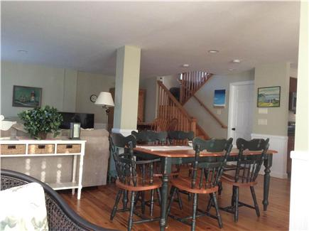 Orleans Cape Cod vacation rental - Dining Area in between living area