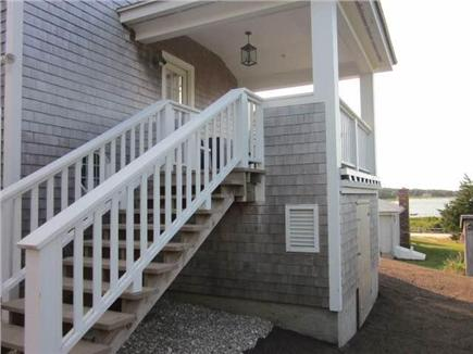 Orleans Cape Cod vacation rental - Steps to lower deck