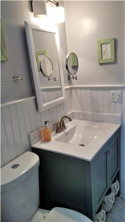 Brewster Cape Cod vacation rental - All new bath- marble and porcelain