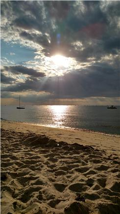 Brewster Cape Cod vacation rental - Sunset on your beach