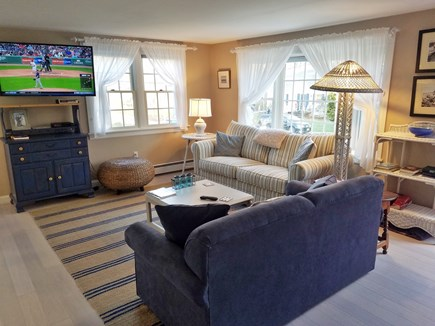 Brewster Cape Cod vacation rental - Living room...family fun
