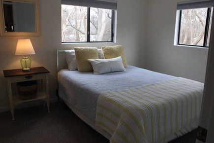 Eastham Cape Cod vacation rental - Downstairs back bedroom has a great view of the back yard.