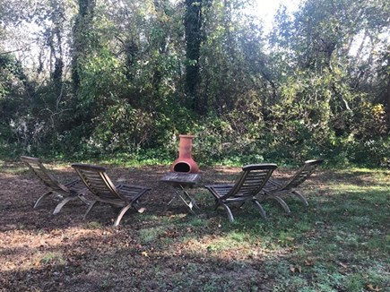 Eastham - beaches & bike path Cape Cod vacation rental - Gather around the firepit with s'mores, friends and family