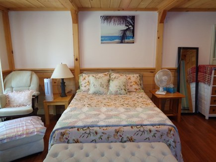 Wellfleet Cape Cod vacation rental - Downstairs bedroom can also be accessed through the sliders