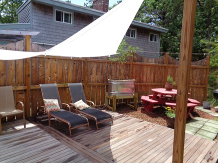 Wellfleet Cape Cod vacation rental - Privacy Fence