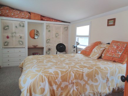 Wellfleet Cape Cod vacation rental - Pleny of closet space & one window A/C unit in this bedroom only
