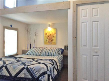 Provincetown Cape Cod vacation rental - Bedroom #2: Queen size bed, A/C unit, optional sleeping  loft