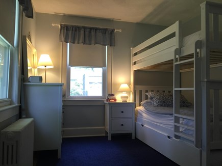 Falmouth Village Cape Cod vacation rental - Guest bedroom with twin bunk beds