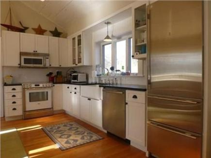 Falmouth Village Cape Cod vacation rental - Kitchen with high end appliances