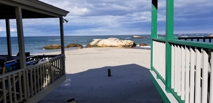 Scituate MA vacation rental - Bar Rock Apartment Oceanview