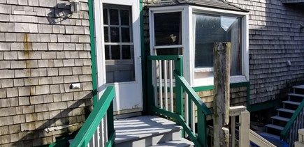 Scituate MA vacation rental - Entrance to Bar Rock Apartment