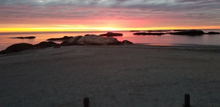 Scituate MA vacation rental - Every sunrise is a little different
