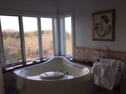 Provincetown Cape Cod vacation rental - Imagine romantic bath with view of the Dunes