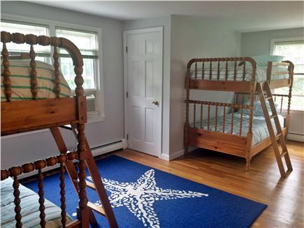 Dennis Cape Cod vacation rental - Second floor bunk room with 2 sets of twin bunks