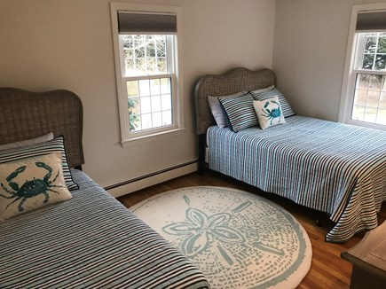Dennis Cape Cod vacation rental - First floor bedroom with twin bed and full bed.