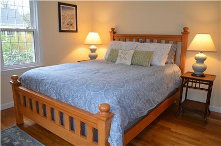 Dennis Cape Cod vacation rental - First floor master bedroom with queen bed.