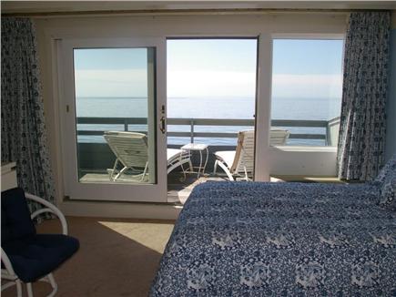 Mashpee, New Seabury Cape Cod vacation rental - Upstairs bedroom with balcony and water views