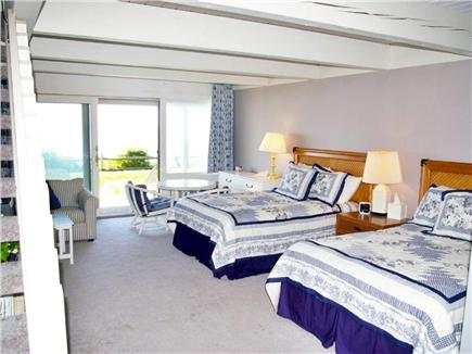 Mashpee, New Seabury Cape Cod vacation rental - Downstairs bedroom with two double beds & with water views