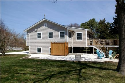 Sandwich Cape Cod vacation rental - Private yard, deck and outdoor shower.