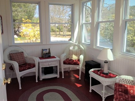 West Yarmouth Cape Cod vacation rental - Sun Room off kitchen
