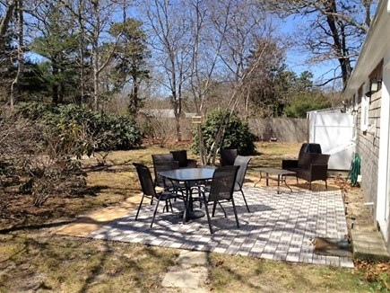 West Yarmouth Cape Cod vacation rental - Patio area with gas grill