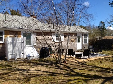 West Yarmouth Cape Cod vacation rental - Back yard with outside shower