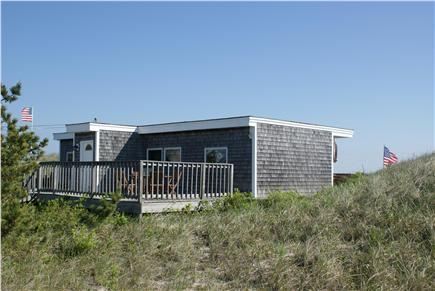 Sagamore Beach, Sandwich Sagamore Beach vacation rental - View of the cottage from the road side.