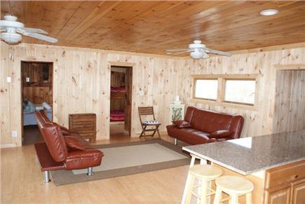 Sagamore Beach, Sandwich Sagamore Beach vacation rental - Kitchen opens to Living Room