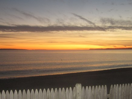 Falmouth Cape Cod vacation rental - Sunset on vineyard sound