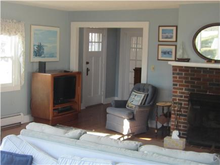 Falmouth Cape Cod vacation rental - Living room and entrance