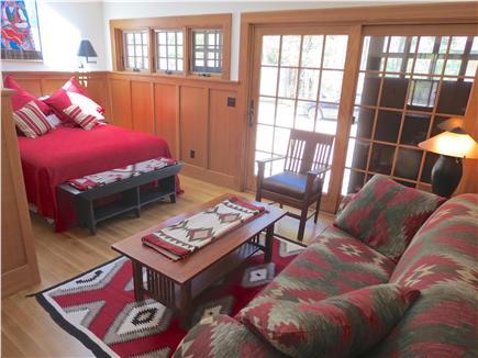 Orleans Cape Cod vacation rental - Freestanding guest studio has a queen bedroom