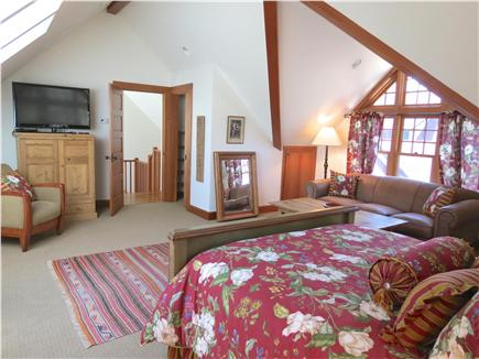 Orleans Cape Cod vacation rental - Guest apartment bedroom is large with a queen bed