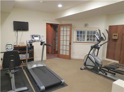 Orleans Cape Cod vacation rental - Lower level of the house features this fully equipped gym