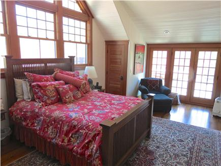 Orleans Cape Cod vacation rental - The main house master bedroom