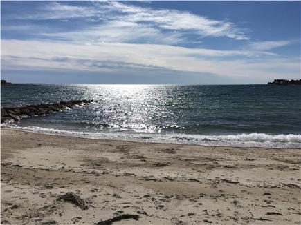 N FALMOUTH Cape Cod vacation rental - New Silver Beach is An easy 1/2 mile walk from house.