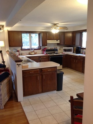 N FALMOUTH Cape Cod vacation rental - Great workable kitchen; service for 12; new appliances.