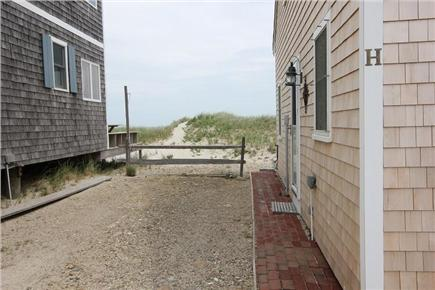 East Sandwich Cape Cod vacation rental - View from Side Cottage