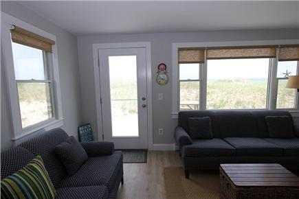 East Sandwich Cape Cod vacation rental - Living Room w/ Views of Ocean