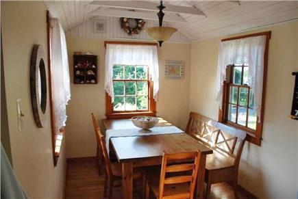 Sandwich Cape Cod vacation rental - Dining Area
