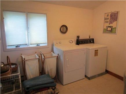 East Dennis, Sesuit Harbor Cape Cod vacation rental - Laundry Room