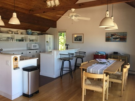 East Dennis, Sesuit Harbor Cape Cod vacation rental - Kitchen/eating area